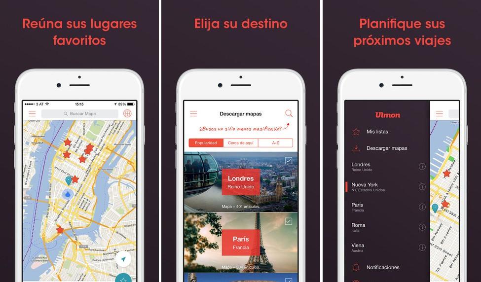 Imágenes de la app City maps 2go pro