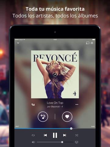 música en iPhone, iPad y iPod TOUCH
