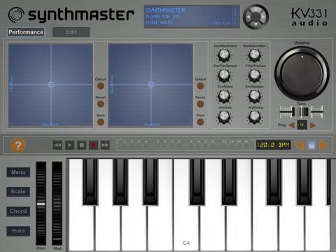 Crear sonidos con Synthmaster