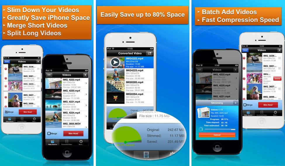 Video Slimmer app compo