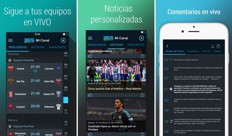 365Scores 3.6 app de resultados