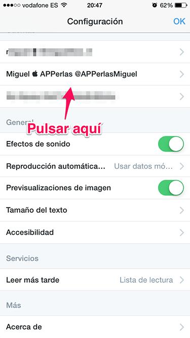 notificaciones en Twitter 2