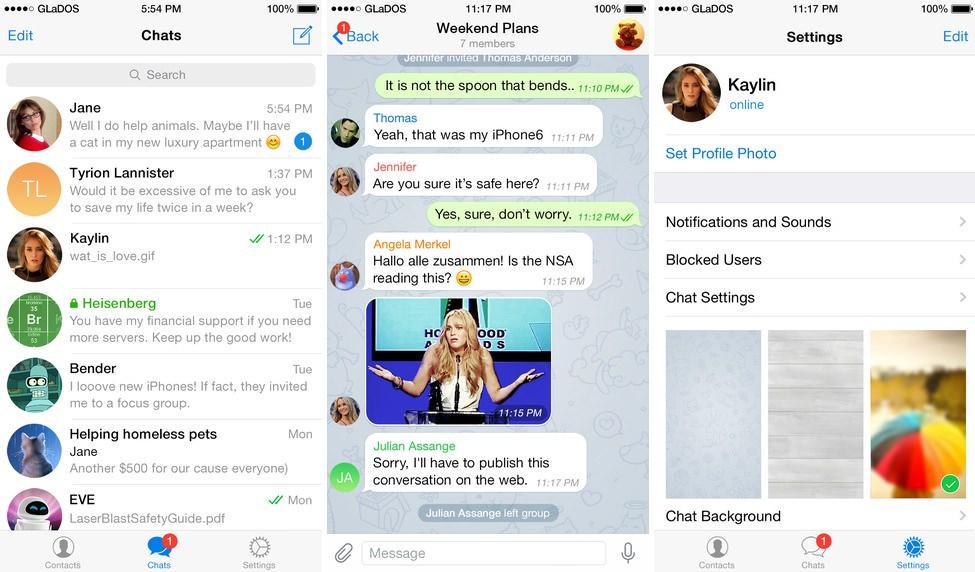 TELEGRAM 3.0