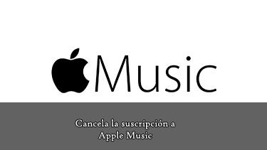 suscripción a Apple Music