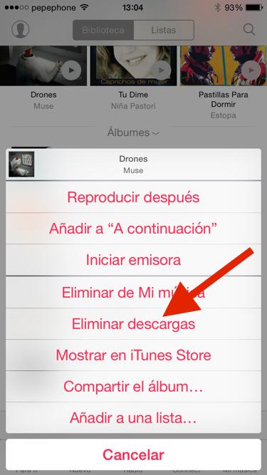 Descargar canciones de apple music en movil