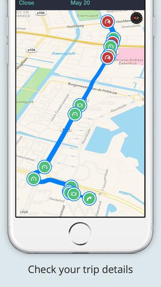 Flo usa GPS
