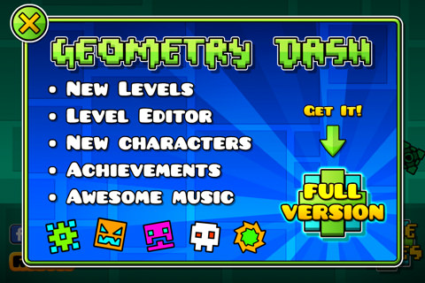 Geometry Dash gratis iOS
