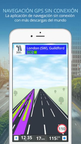 Sygic gps para iPhone y iPad