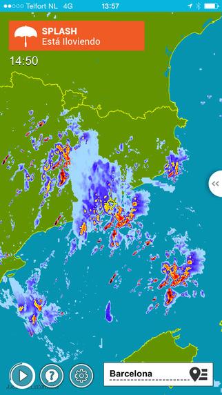 Radar lluvia