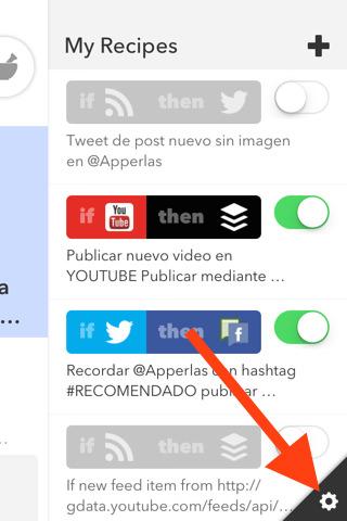 Compartir automaticamente contenido de Apperlas