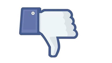 No me gusta de Facebook
