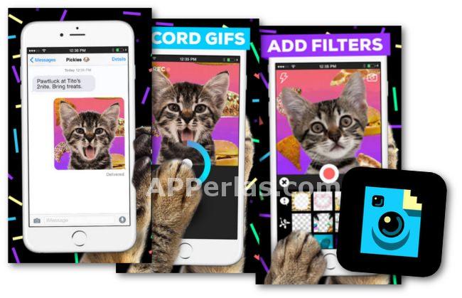 Giphy Cam app para crear gif en iPhone