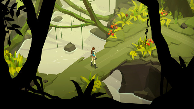 Lara croft go iPhone