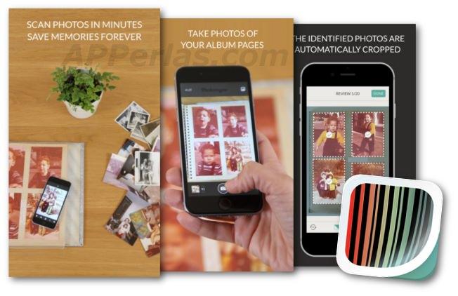 Photomyne, digitalizar fotos