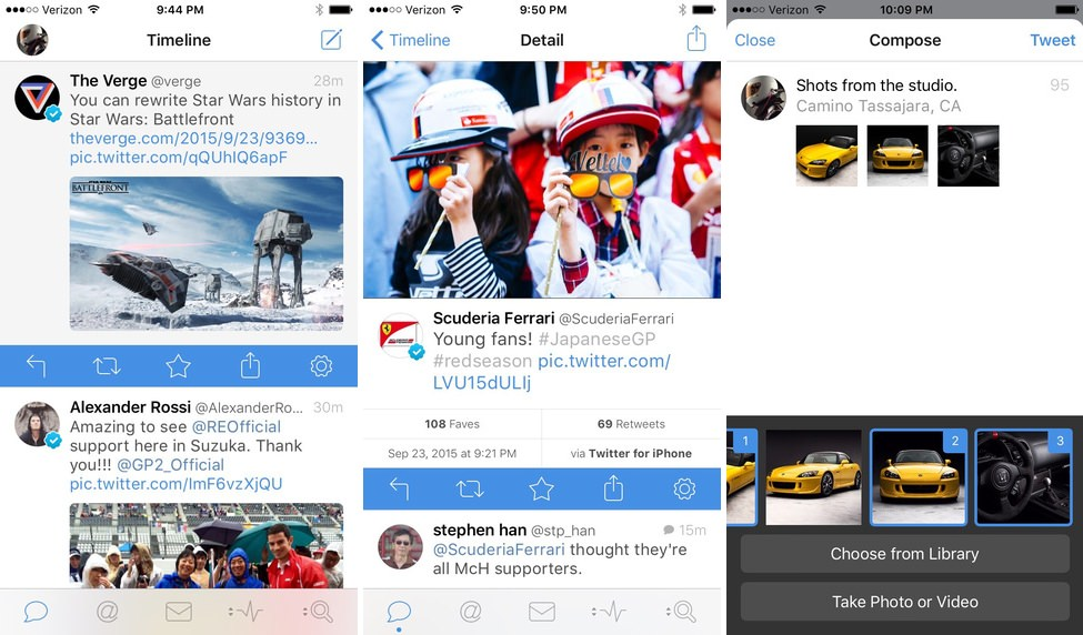 Tweetbot 4 iphone y ipad