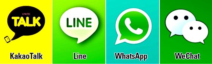 Whatsapp line wechat