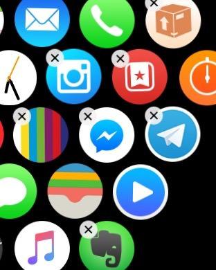 Borrar apps directamente del Apple Watch