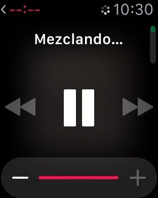 música en el Apple Watch 3