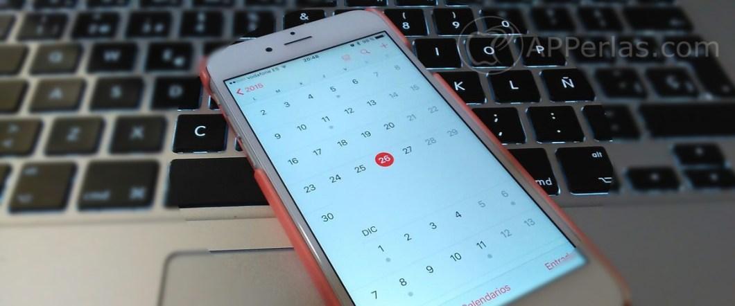 Calendario del iPhone