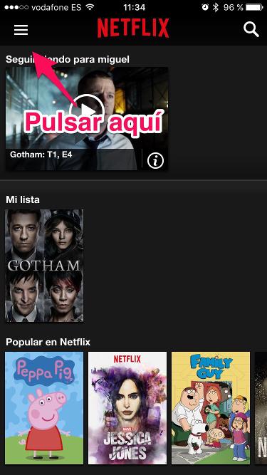 suscripción de Netflix 1