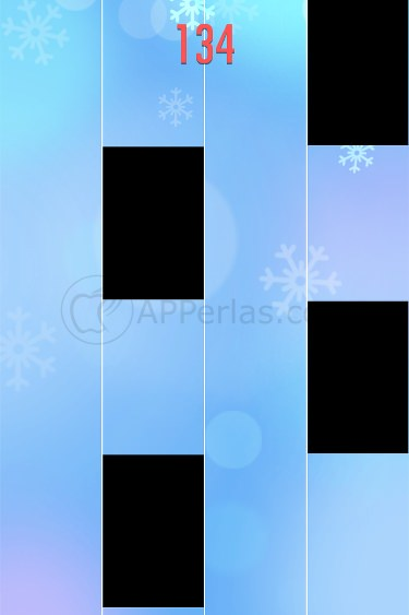 Piano tiles 2 interfaz