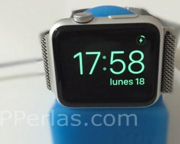 Cómo ver el porcentaje de batería del Apple Watch mientras carga