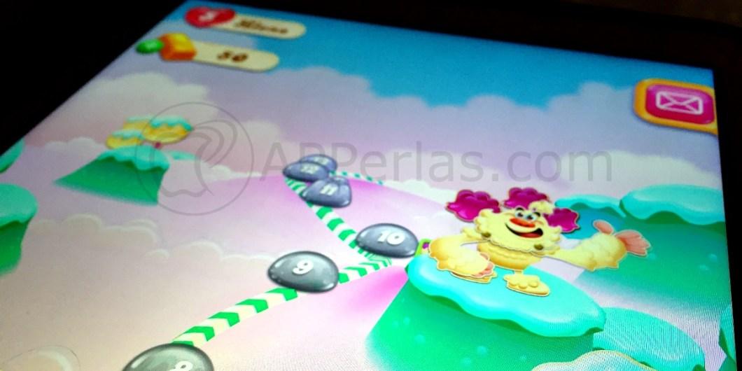 Candy crush jelly mapa