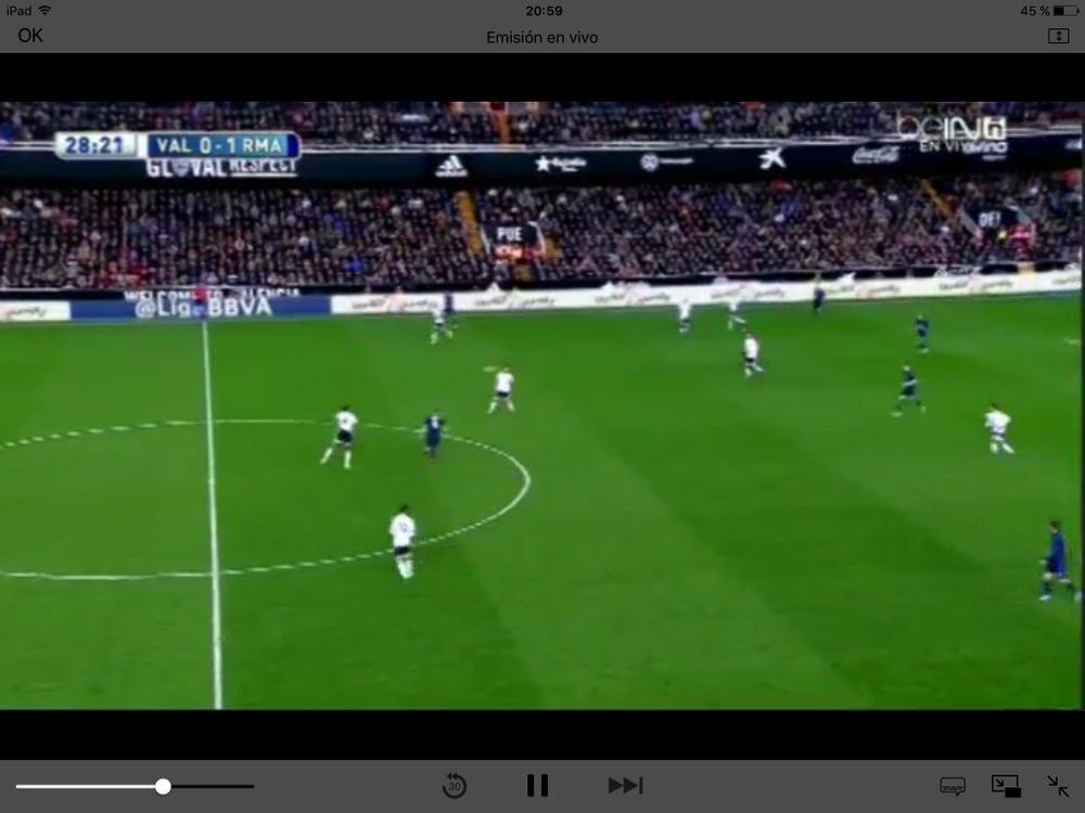 partidos de fútbol gratis iphone y ipad