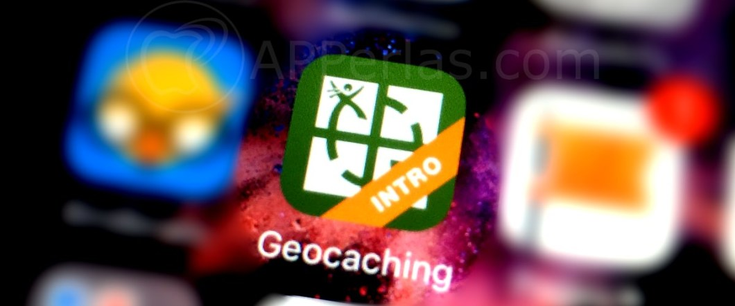 App de Geocaching iPhone