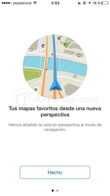 app de mapas Maps.me 3D