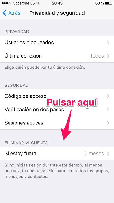 cuenta de Telegram 2