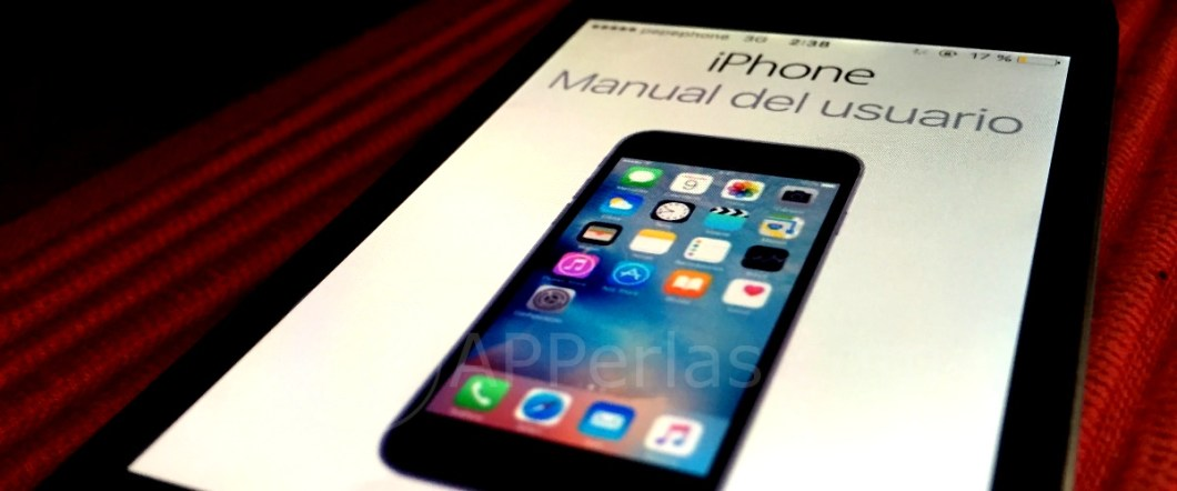 Manual iphone en reposo