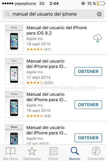 Manual de iPhone, iPad y iPod TOUCH
