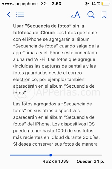 Manual de iPhone oficial