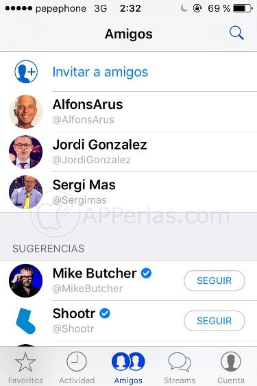 Famosos con Chat público en Shootr