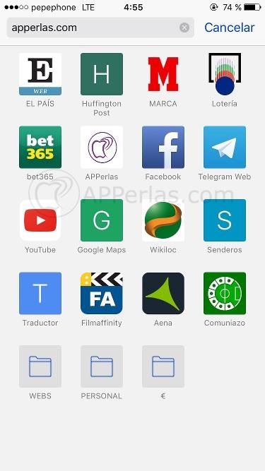 Web apps nuevas