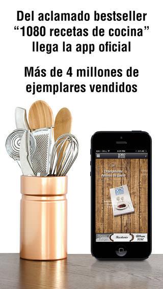 app de comida y bebida 1080 recetas