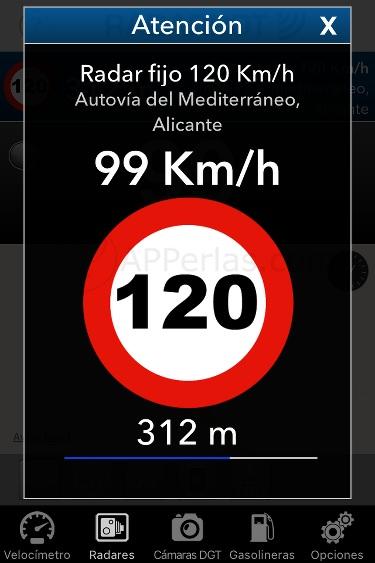 Detector de radares app