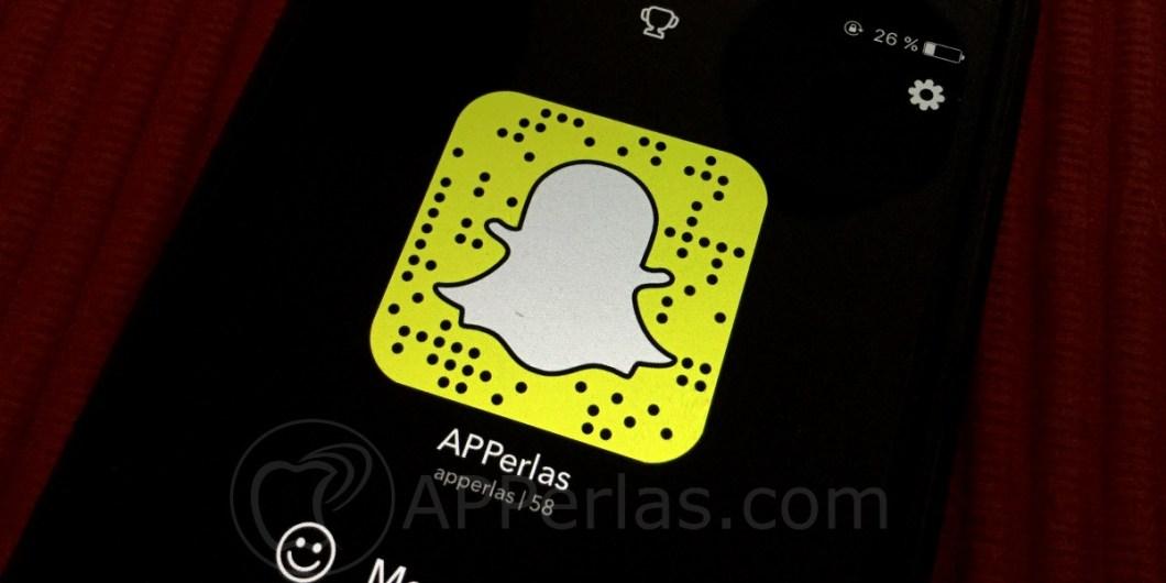 Snapchat sin usar las manos en iPhone