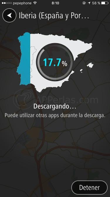 Tomtom go Mapa Iberia