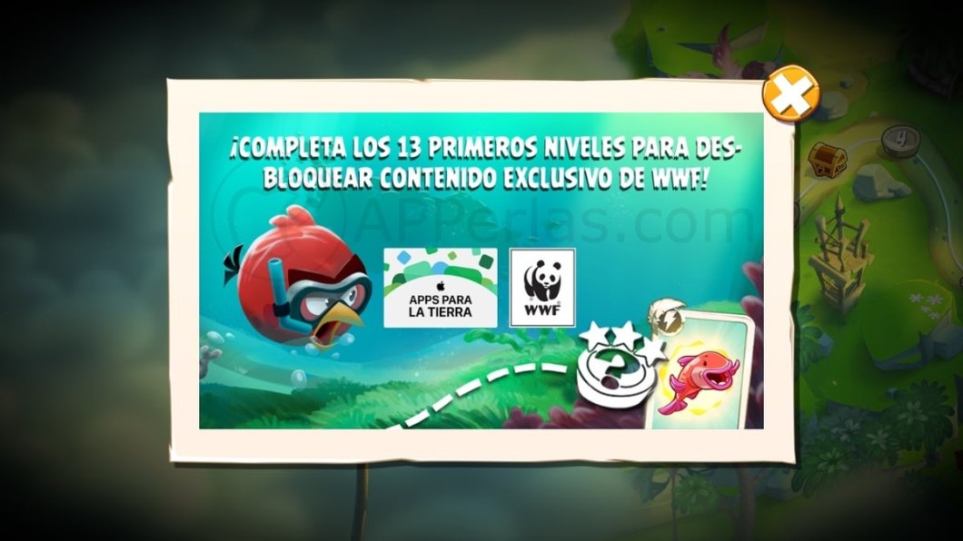 ANGRY BIRDS 2 apple wwf