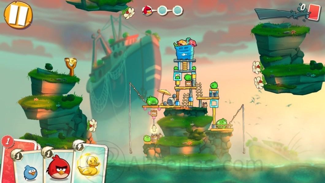 ANGRY BIRDS 2 nuevos niveles
