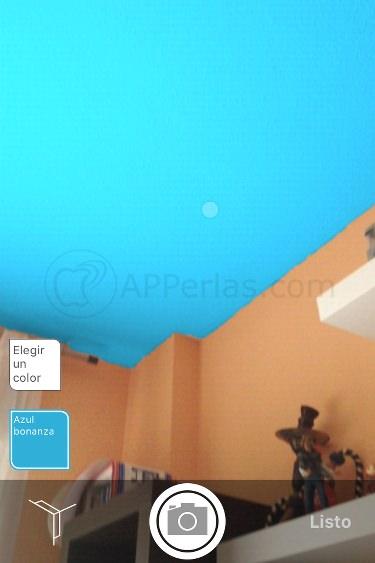 pintar paredes de casa en iPhone y iPad