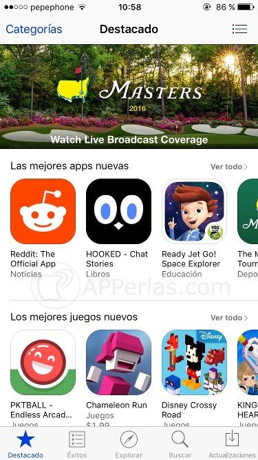 App Store de EE.UU. 4