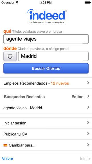 Empleo app para buscar trabajo
