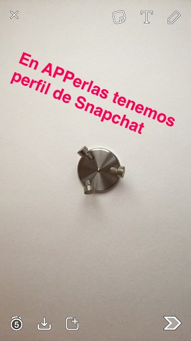Snapchat herramienta creativa