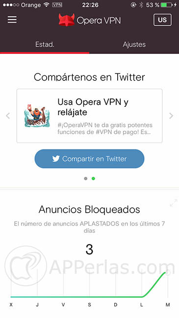 Opera VPN 2