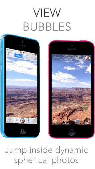 Bubbli Fotos de 360 grados