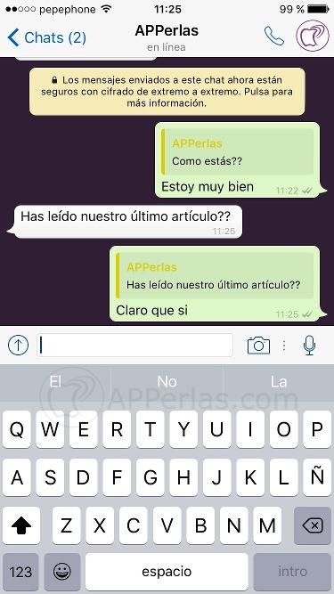 Novedades Whatsapp responder un mensaje