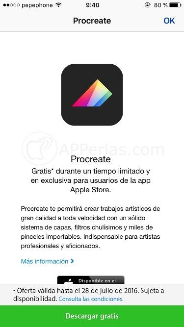 Procreate gratis 4